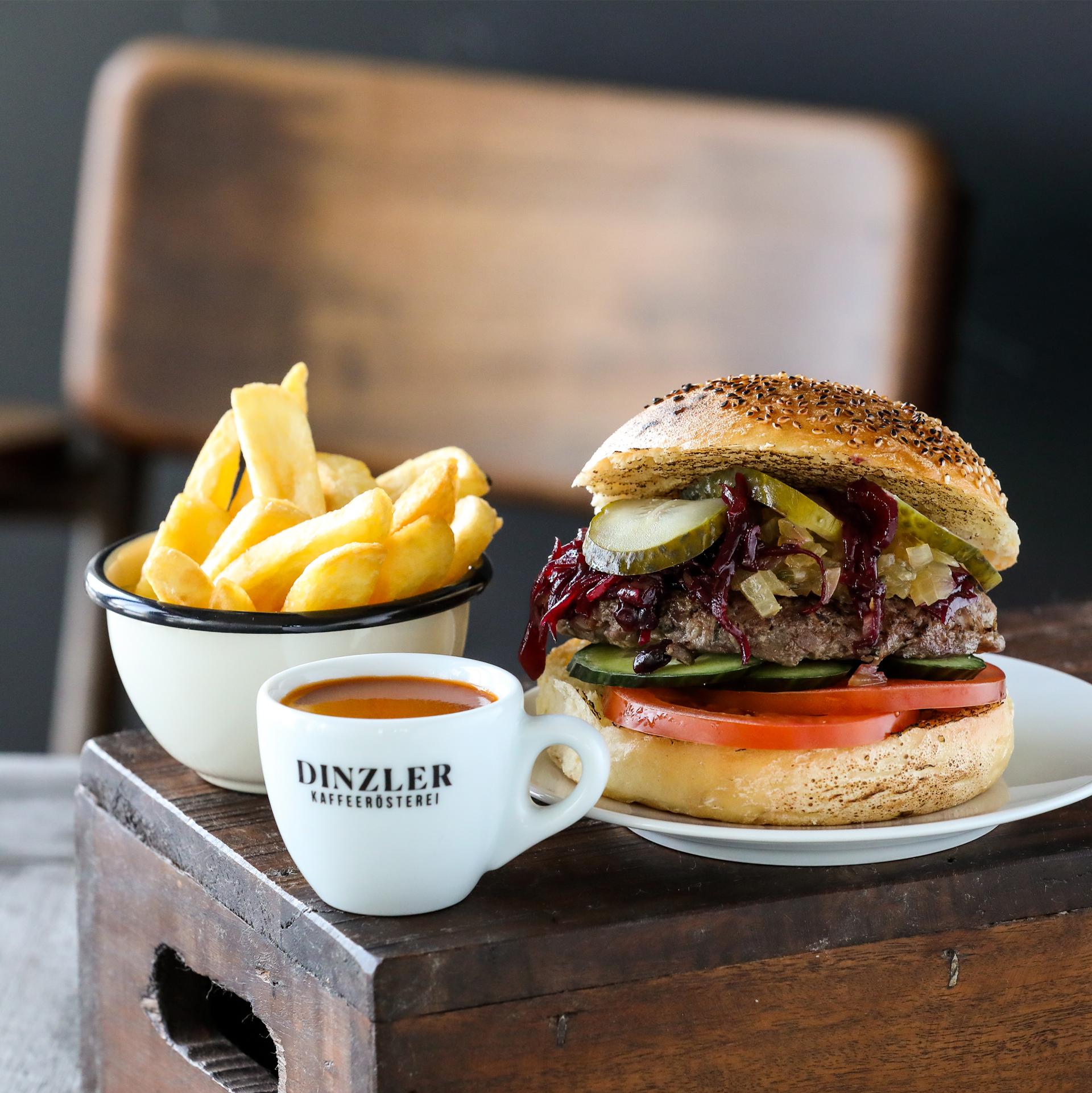 Halligalli Box Burger mit Fleisch (für 1 Person)