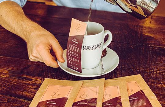 Kaffeebeutel - Die wohl einfachste Art Kaffee zu genießen