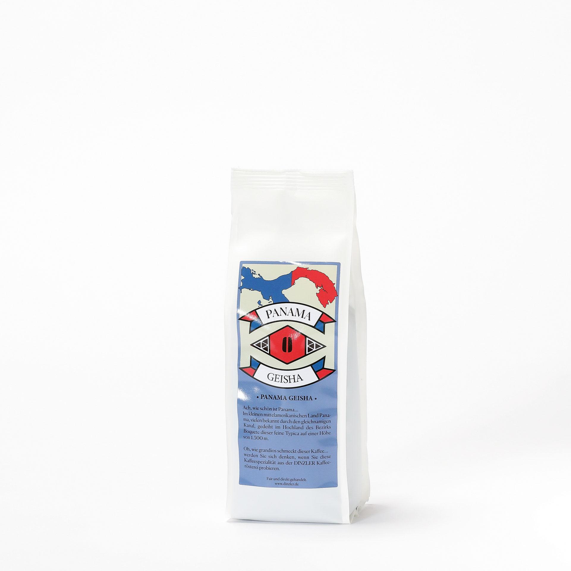 DINZLER Kaffee Panama Geisha