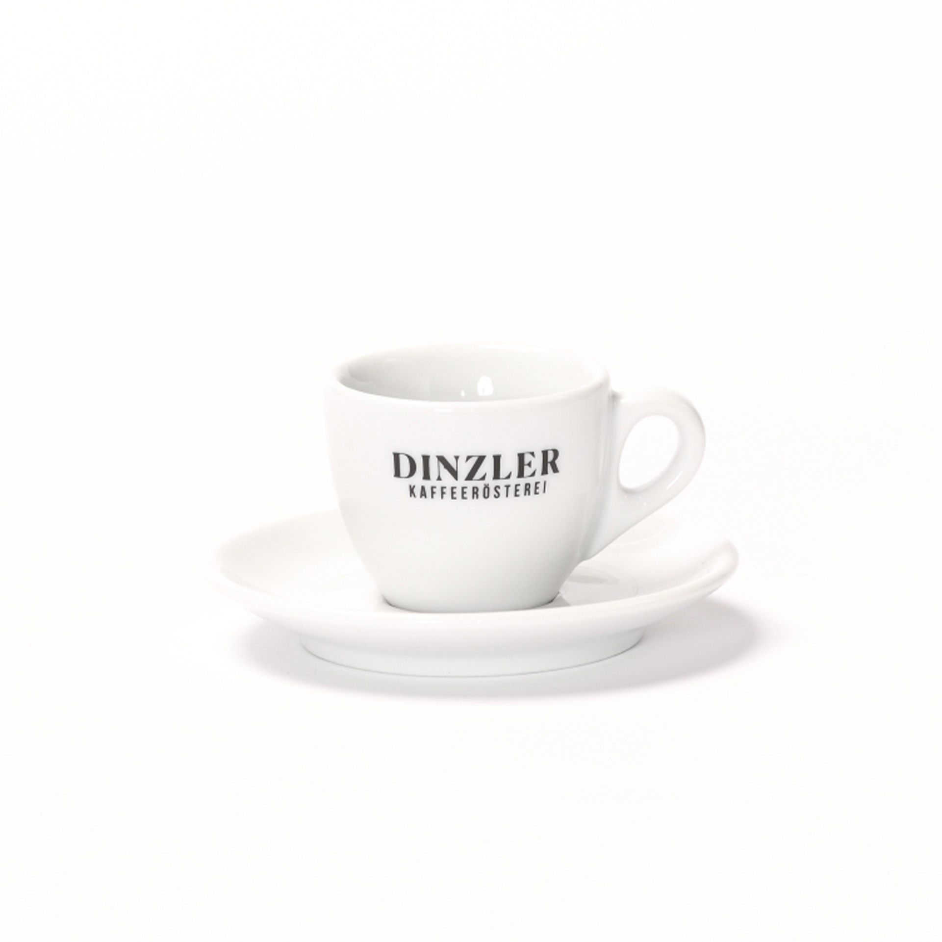 Espressotasse mit DINZLER Logo