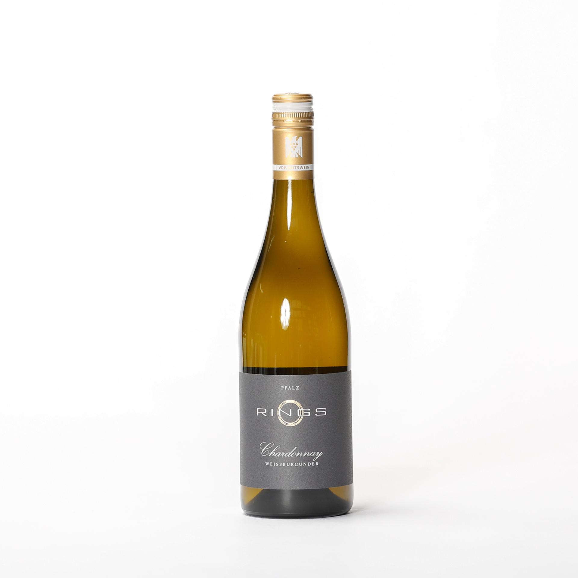 Produktbild Chardonnay & Weißburgunder Gutswein 2020 - Weingut Rings| DINZLER Kaffeerösterei
