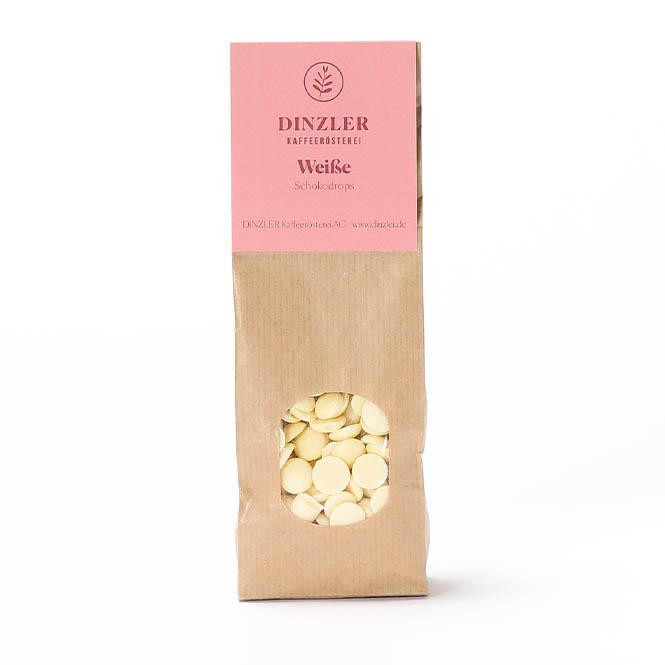 DINZLER Weiße Schokodrops für Trinkschokolade