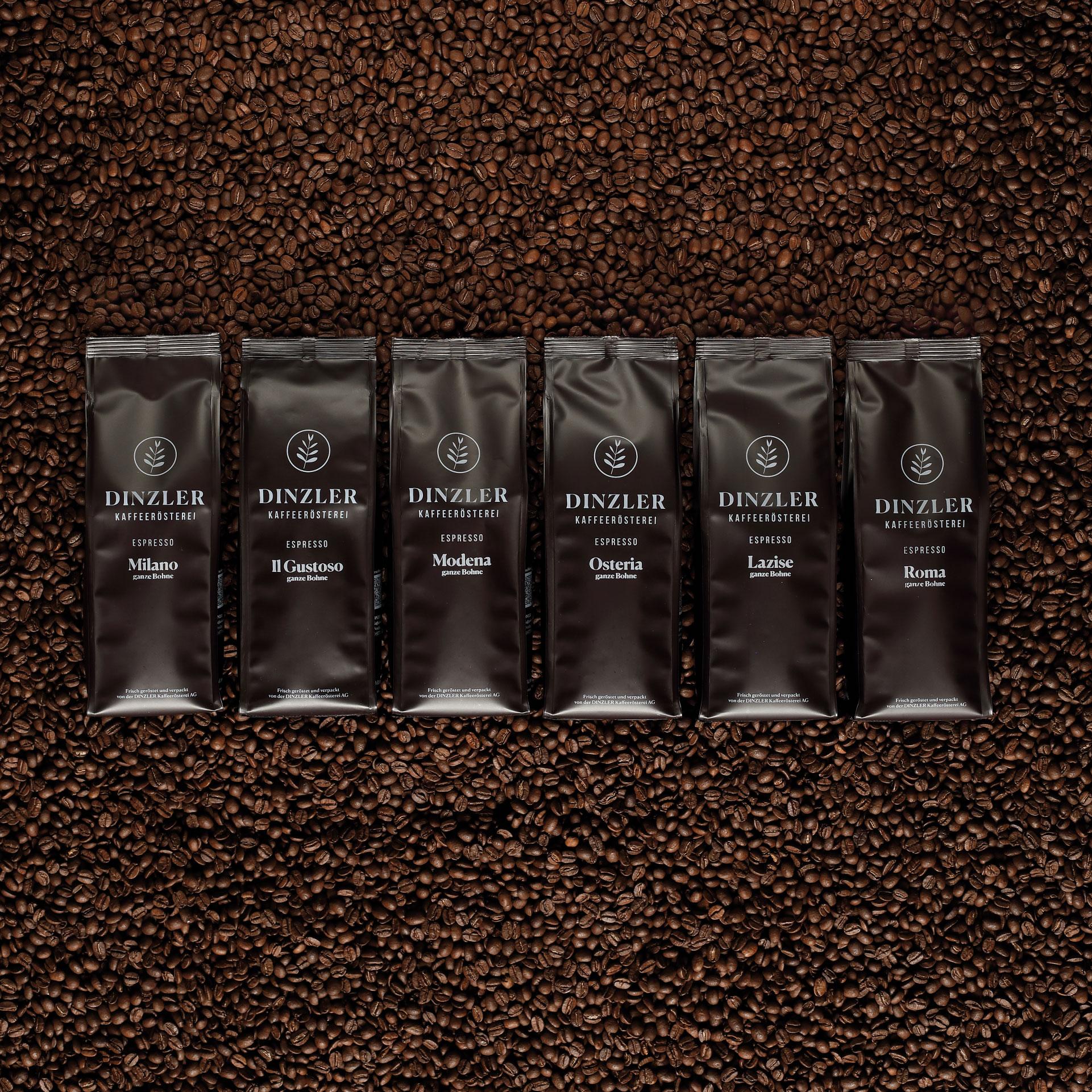 Espresso im Abo - DINZLER Kaffeeröstterei