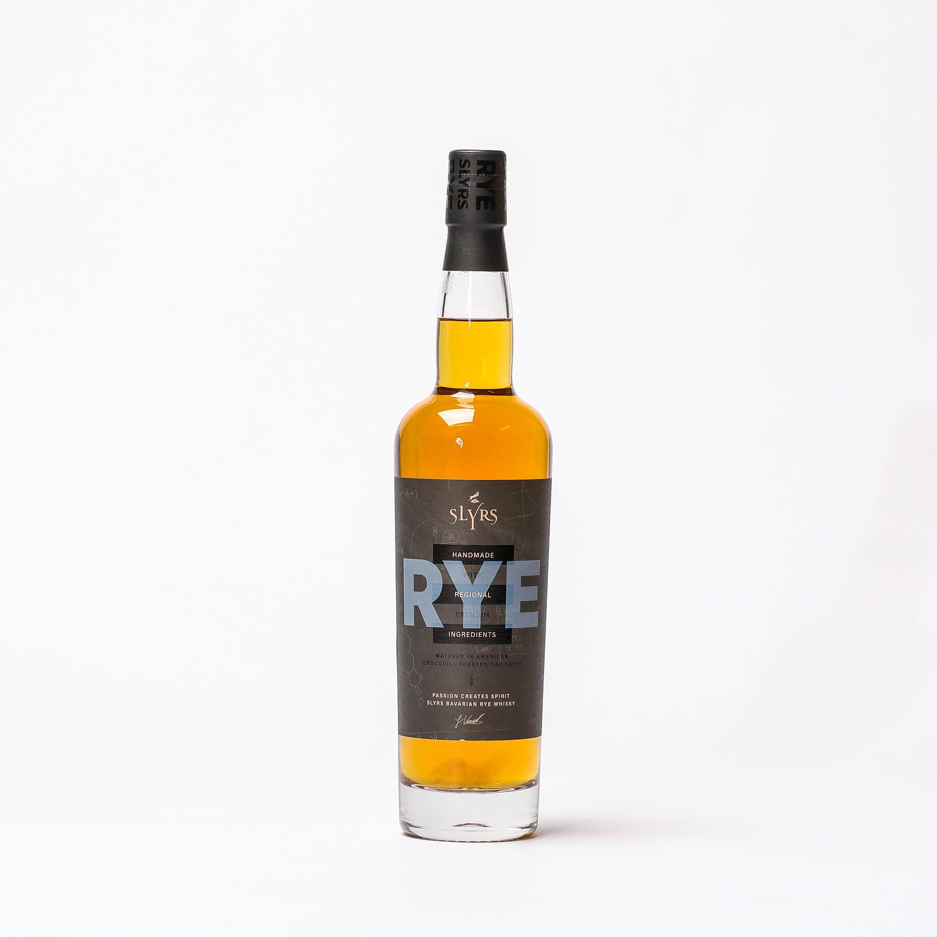 Produktbild Bavarian RYE Whisky 0,7l 41% vol. - Slyrs Destillerie| DINZLER Kaffeerösterei
