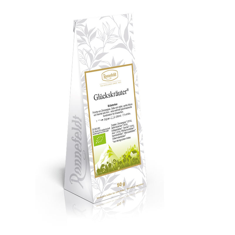Ronnefeldt Tee Glückskräuter