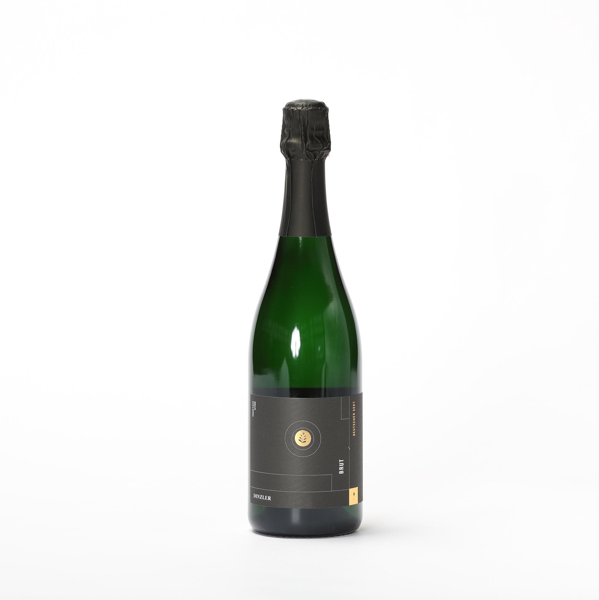 DINZLER Weißwein Sekt Brut - Weingut Dreissigacker