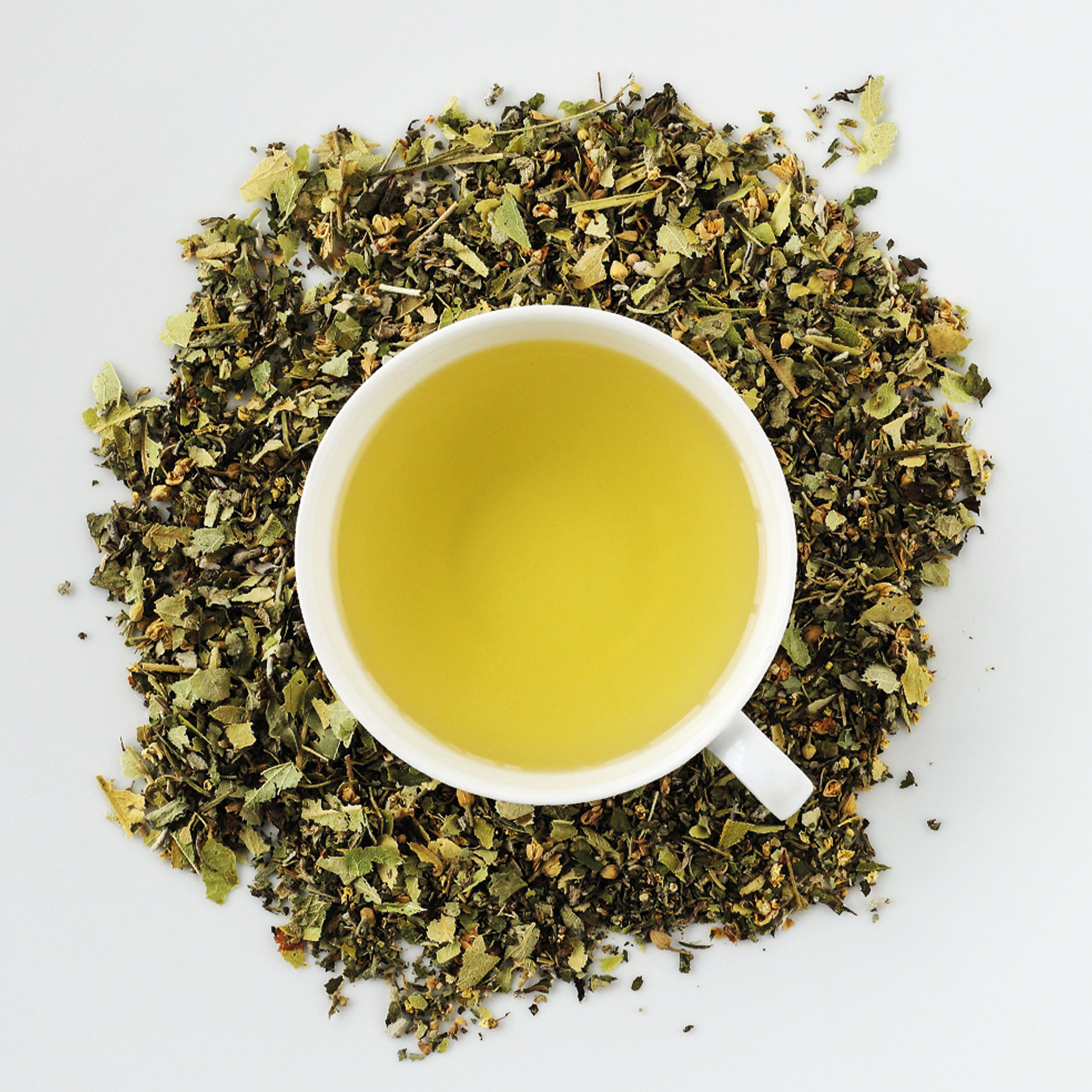 Bio Tee Mountain spring DINZLER Teeselektion