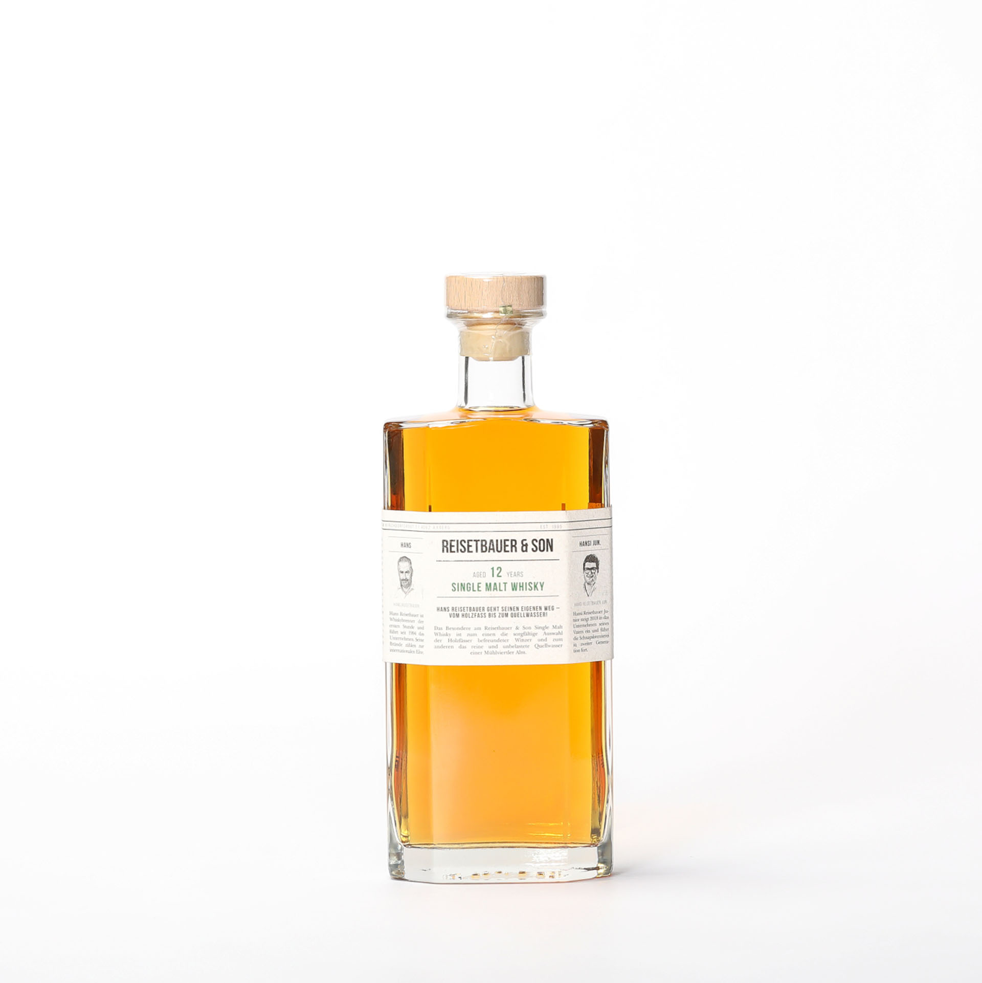 Single Malt Whisky 12 years - Reisetbauer & Son