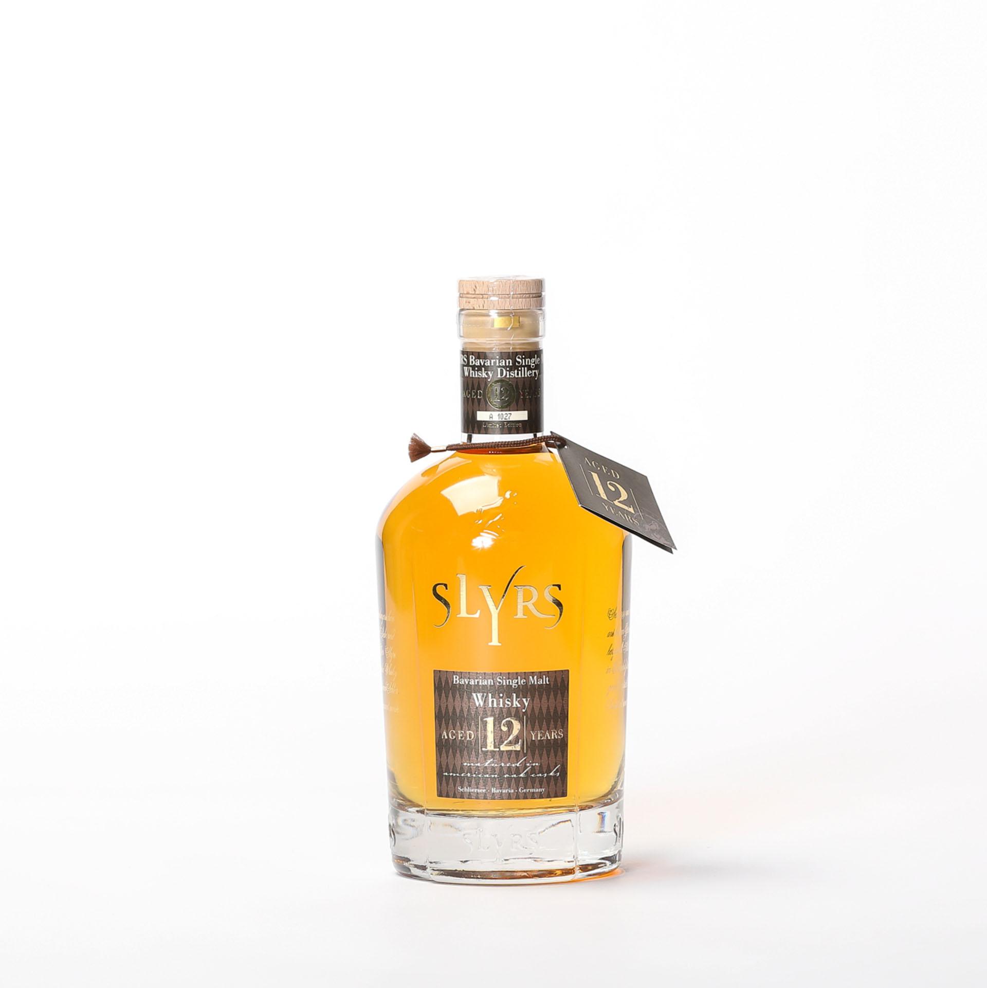Produktbild Bavarian Single Malt Whisky 12 Years - Slyrs Destillerie| DINZLER Kaffeerösterei