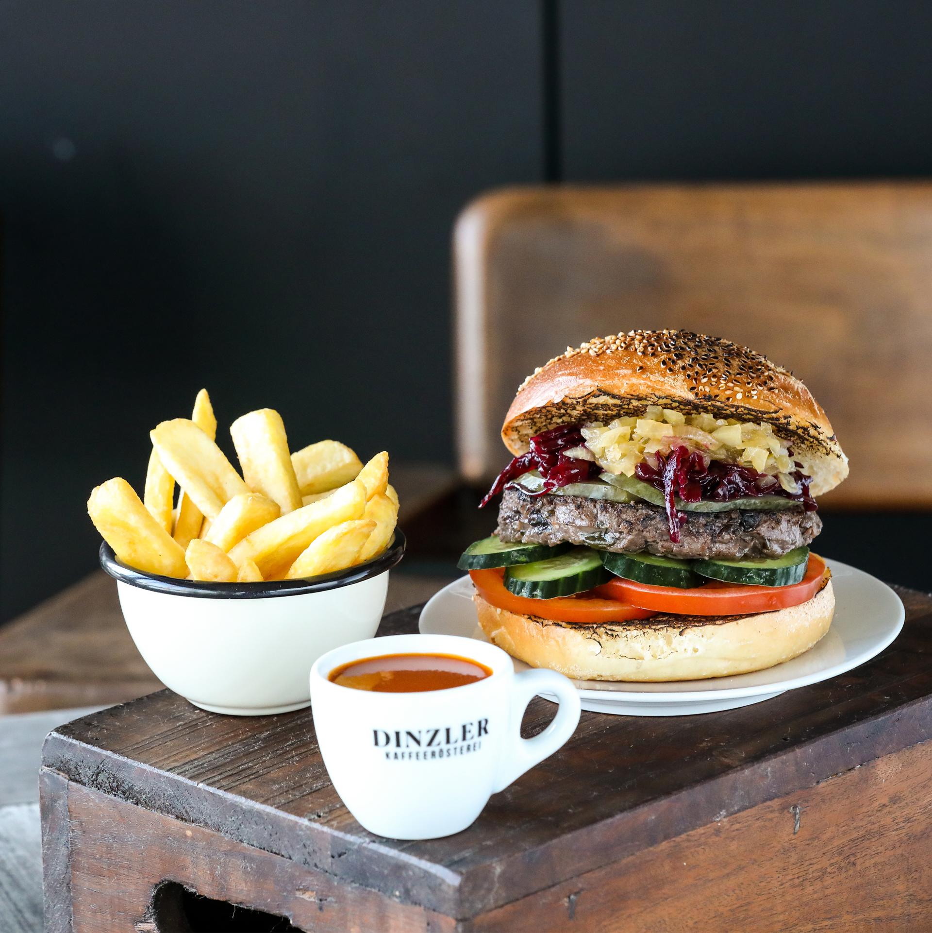 Halligalli Box Burger mit Wild (für 1 Person)