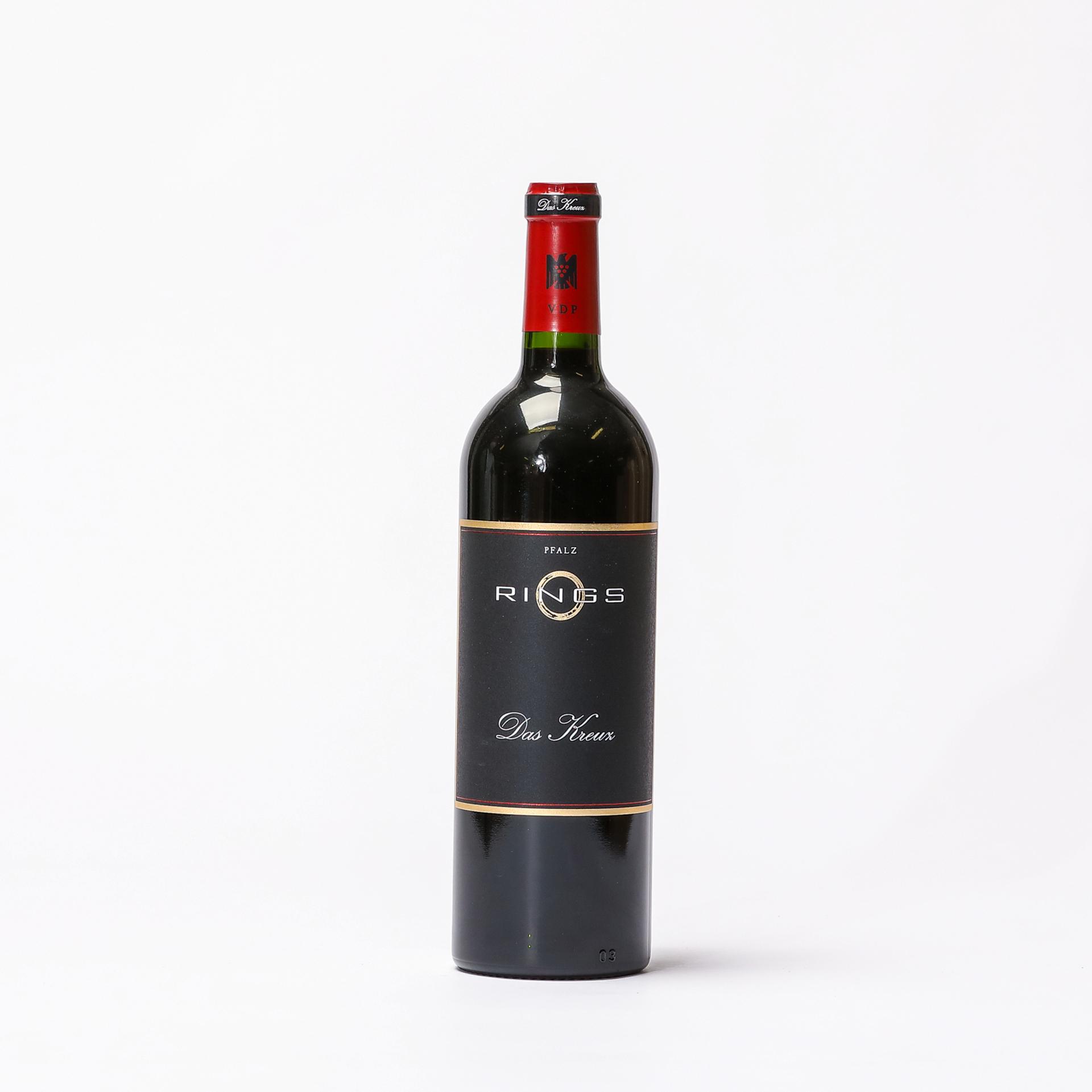 Produktbild Rotweincuvée Das Kreuz 2018 - Weingut Rings| DINZLER Kaffeerösterei