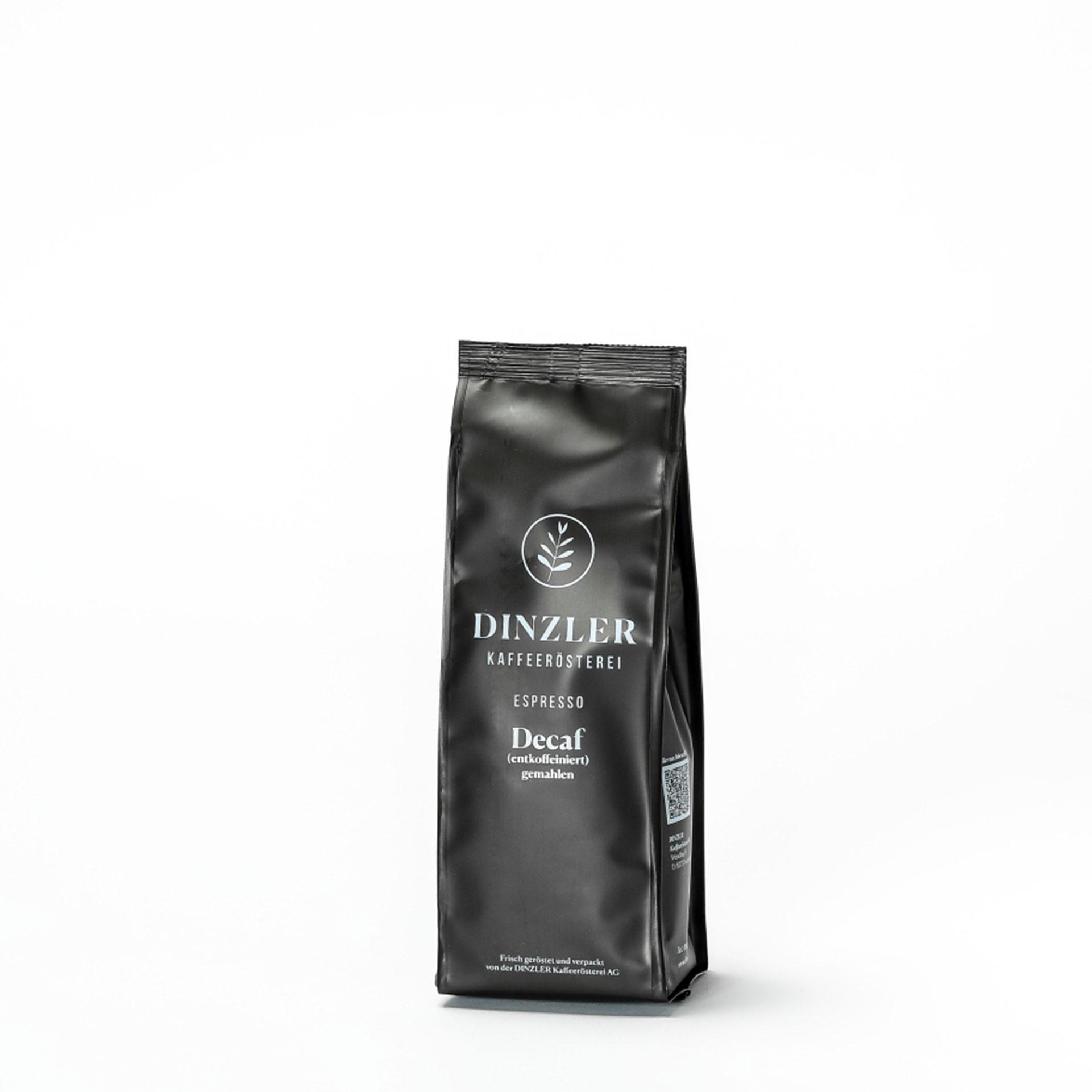 Koffeinfreier DINZLER Espresso Decaf