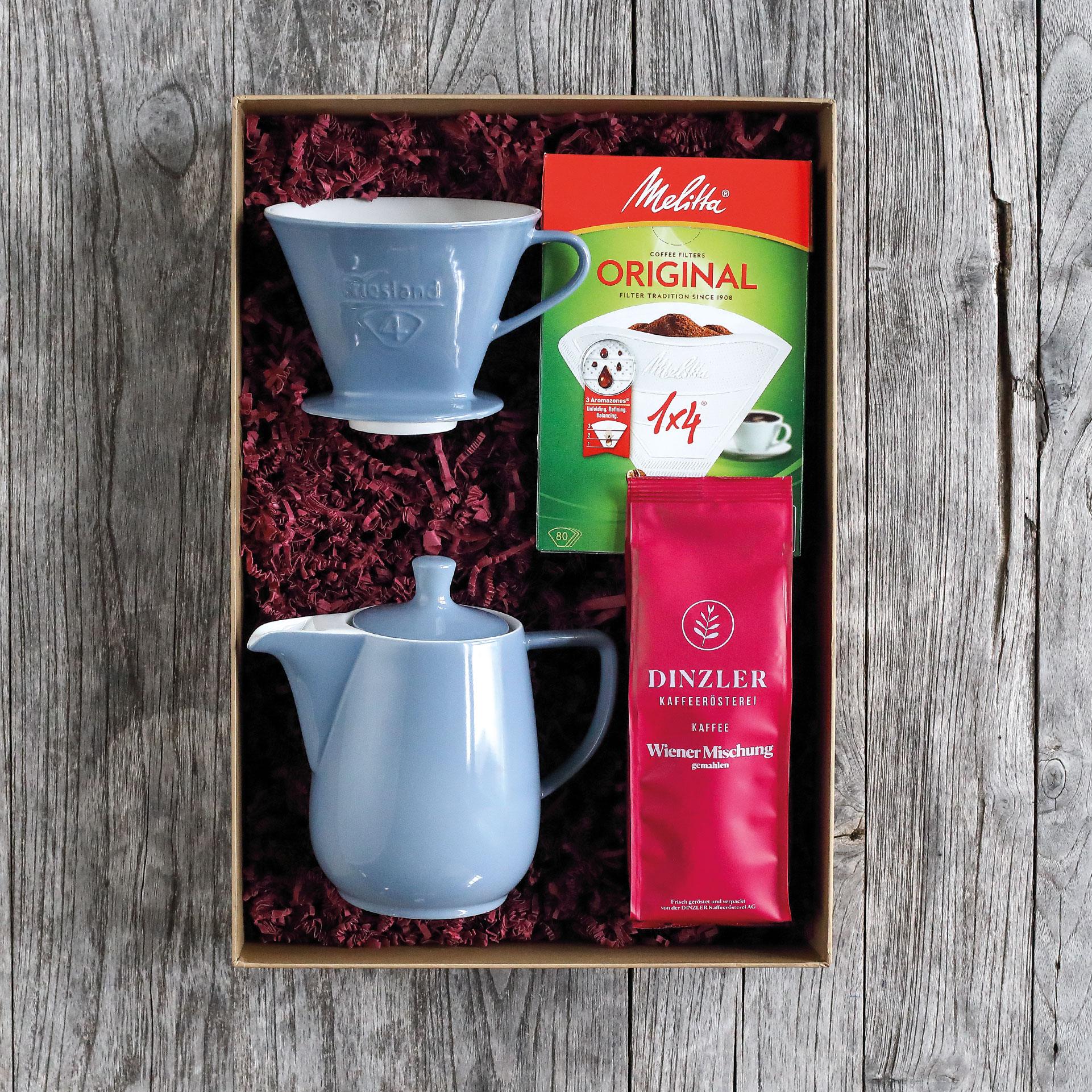 """Geschenkbox """"Für Kaffee-Tanten"""""""