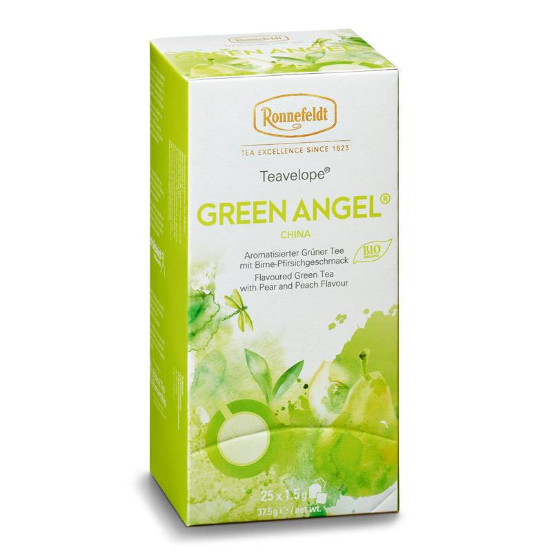 Ronnefeldt Teavelope Green Angel