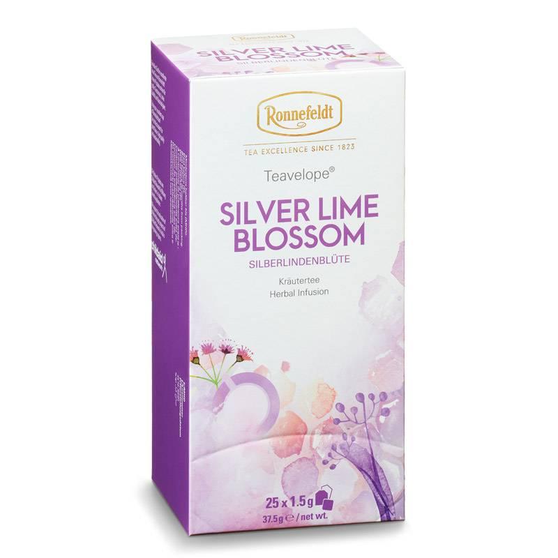 Ronnefeldt Teavelope Silver Lime Blossom
