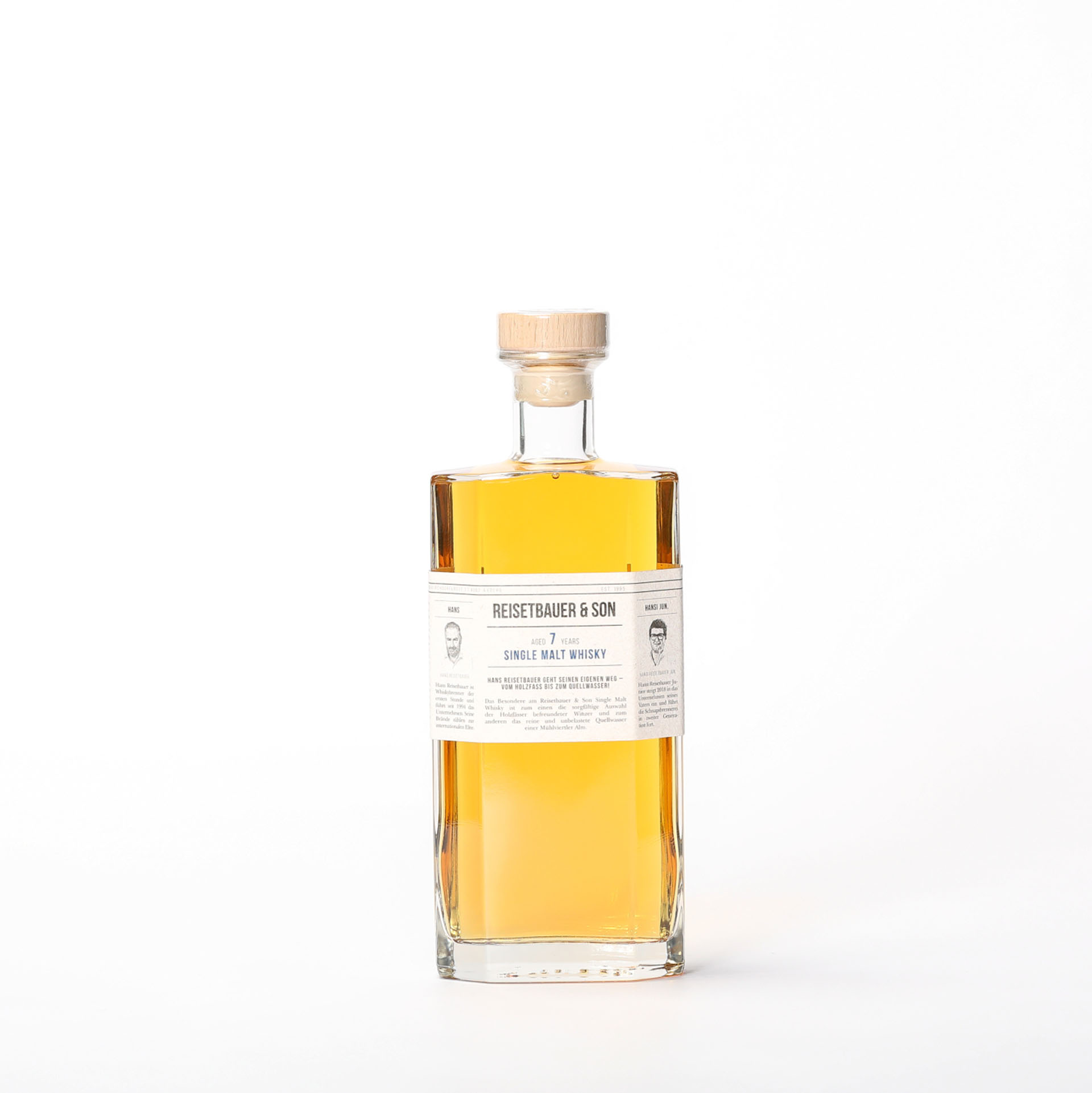 Single Malt Whisky 7 years - Reisetbauer & Son