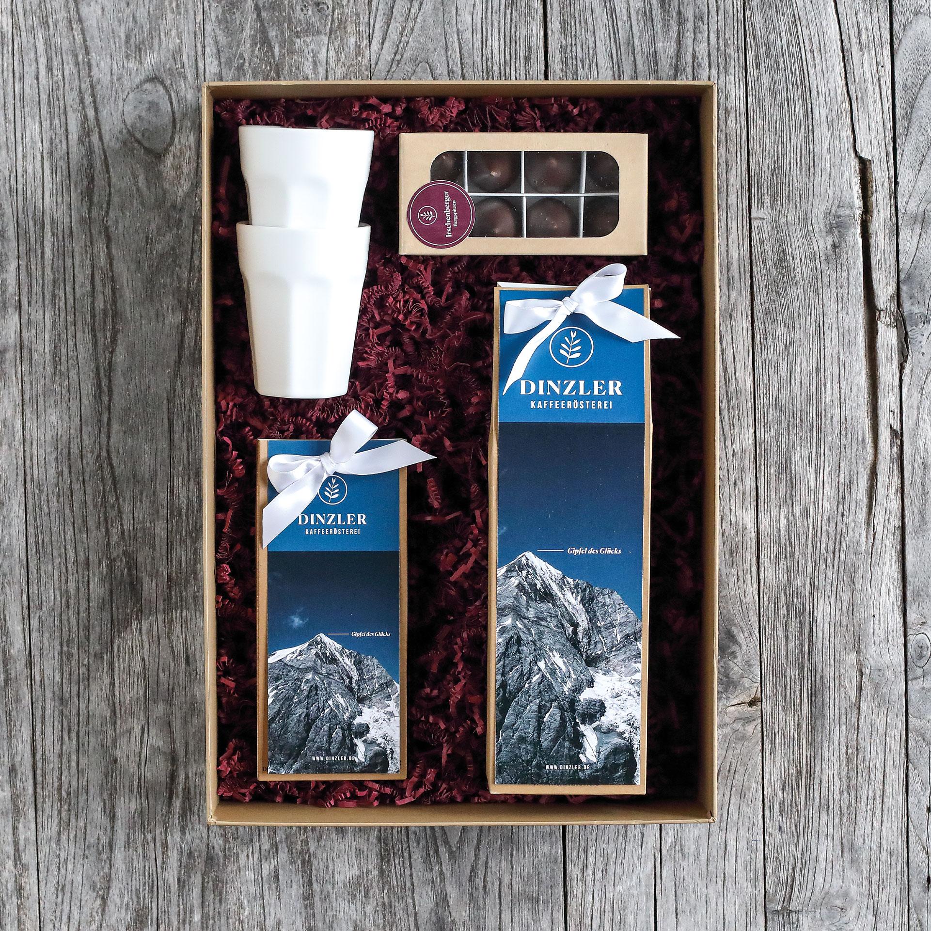 """Geschenkbox - """"Gipfel des Glücks"""""""