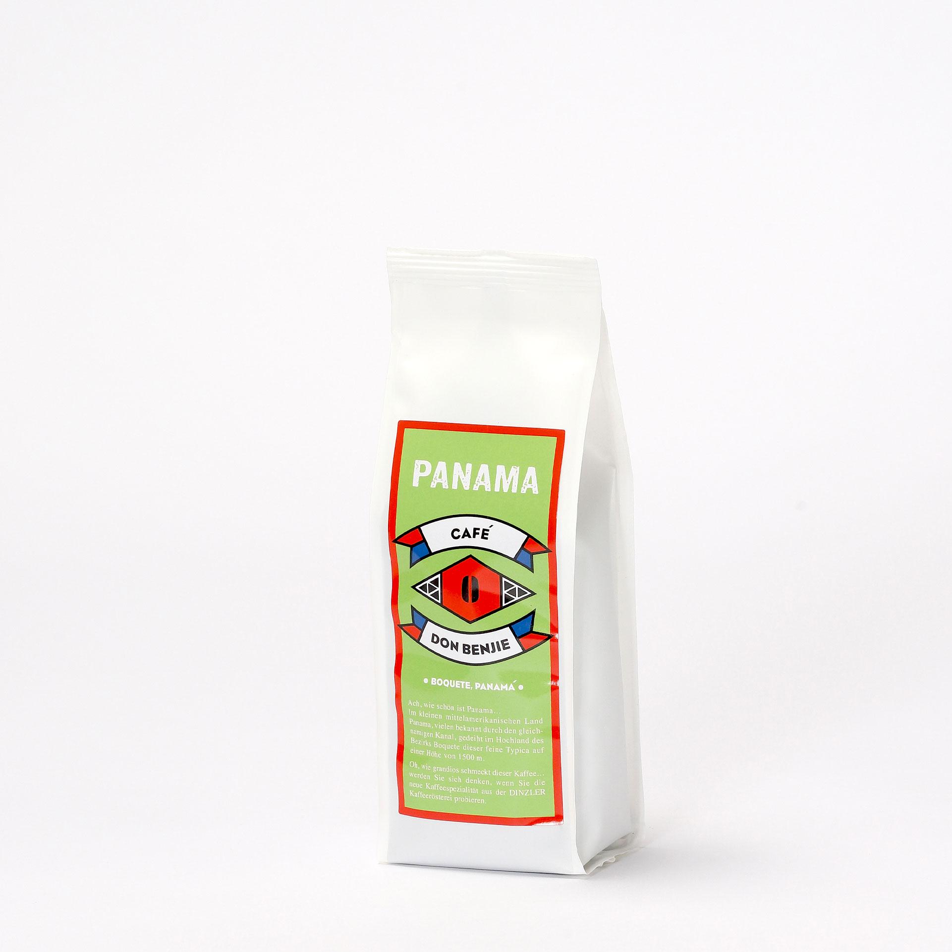 DINZLER Kaffee Panama Don Benjie