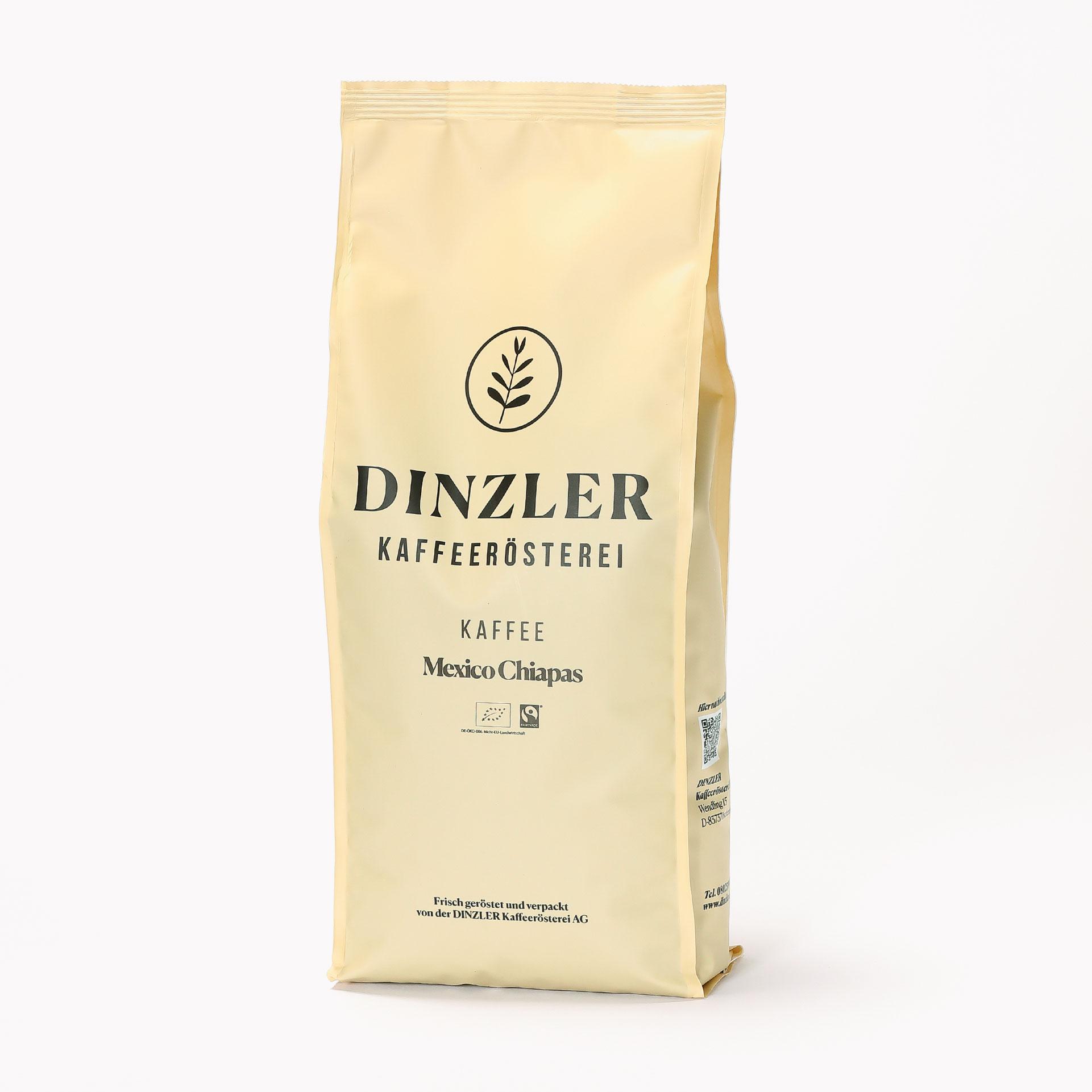 DINZLER Kaffee Mexico Chiapas